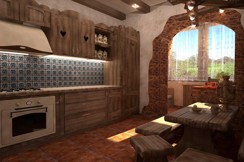 Дизайн квартир под старину